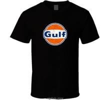 Gulf Oil Logo Cool T-Shirt descuento caliente nueva moda top envío gratis oficial nueva camiseta