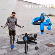 Smart numérique vitesse corde à sauter calories Fitness pondéré corde à sauter exercice Cardio perdre du poids musculation