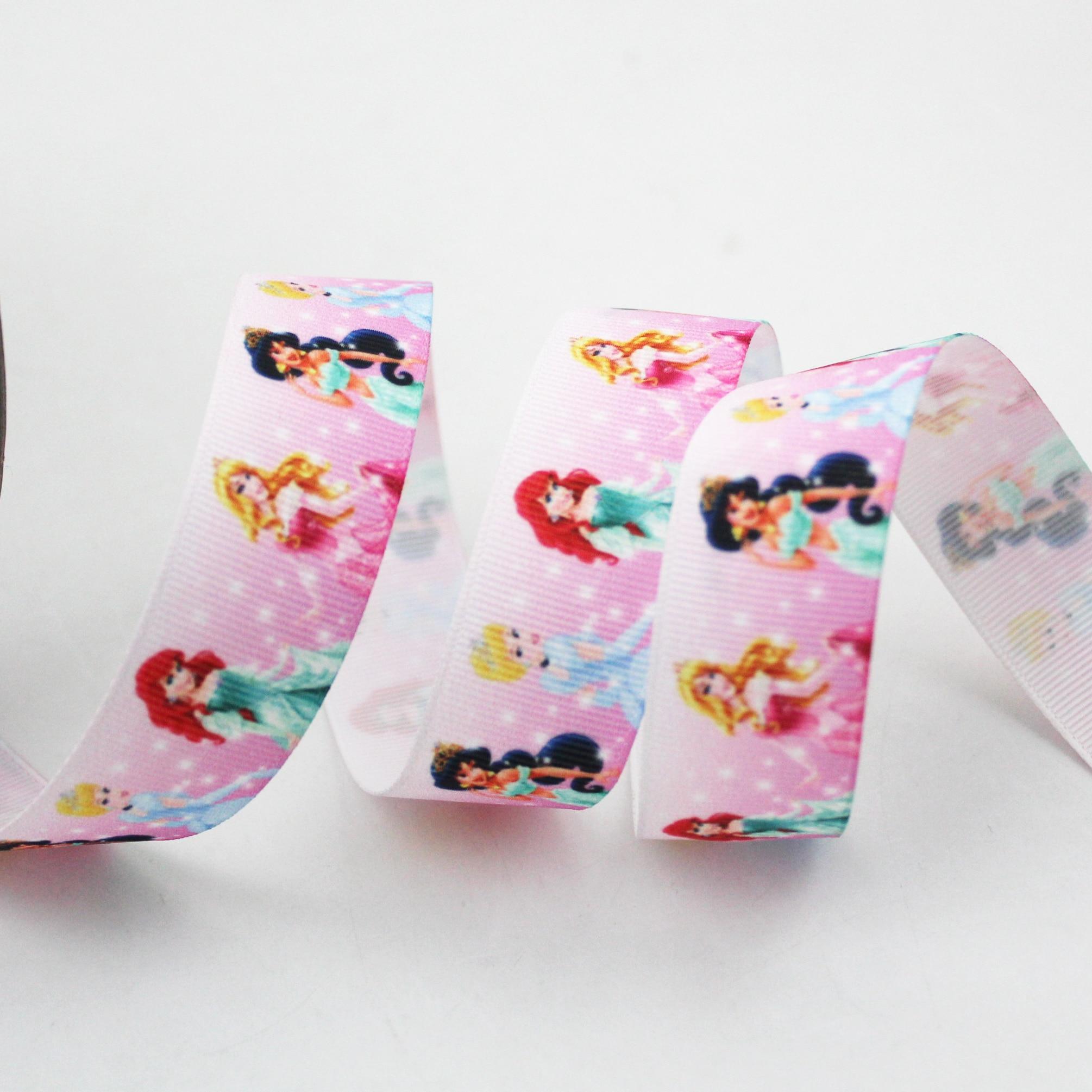 Cinta de grogrén Rosa impresa 38mm 10 yardas limón estampado de manzanas boda fiesta decoración cintas DIY cinta Paquete de regalo
