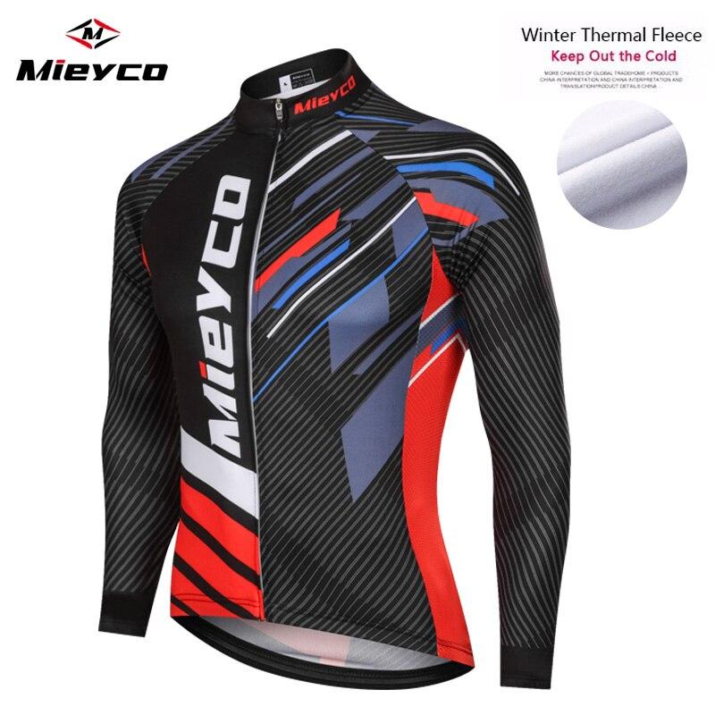 Pro-Maillot de Ciclismo de manga larga para hombre, Ropa térmica de lana...