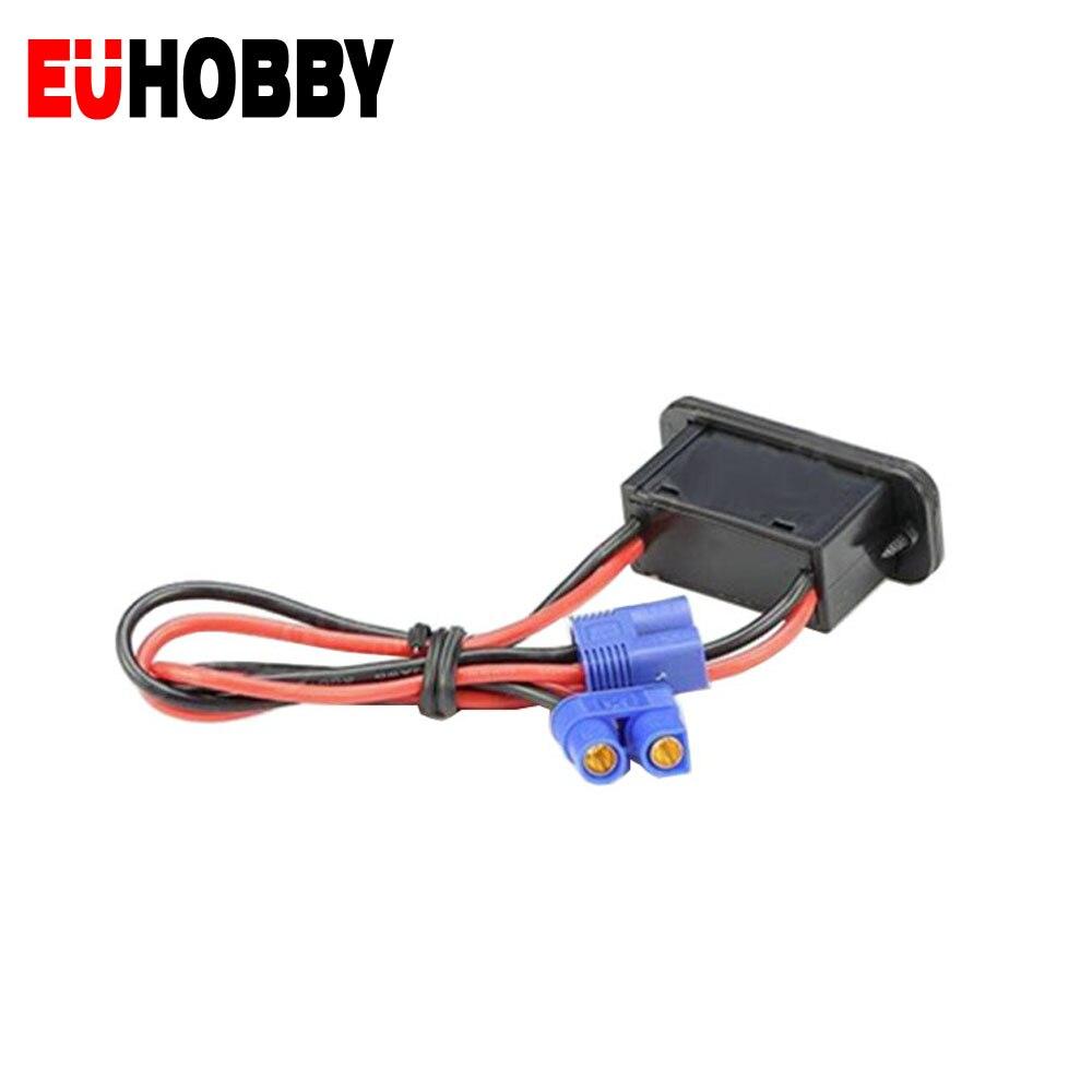 Cable conector EC3 de alta moneda, interruptor de encendido y apagado para...