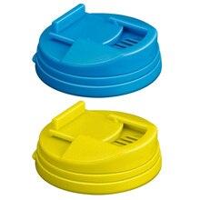 2 pièces Pop Can couvre fermeture éclair-couvercle de boîte scellé PP Type de presse