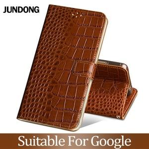 For Google Pixel 2 3xl lite 4 XL Case Cowhide Luxury Card slot wallet phone flip cover