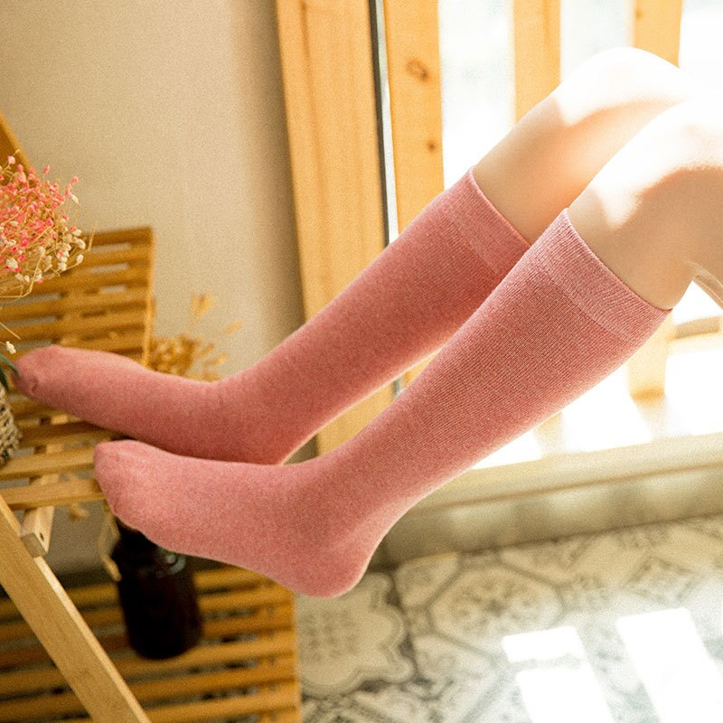 7-33color Fashion Letter Sexy Warm Long Cotton Luxury Stocking Over Knee Stocking Women Spring Knee