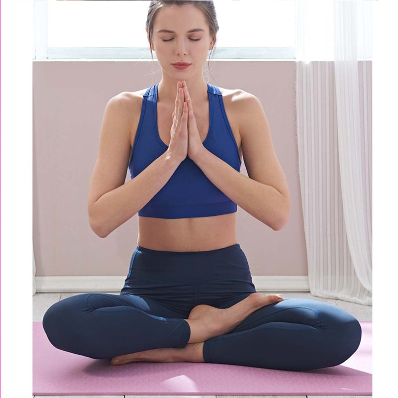183*61*0.6cm TPE Non-slip Yoga Mat Quality Exercise  For Beginner Environmental Fitness Gymnastics Mats