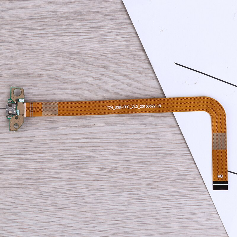 1pc amarelo genuíno usb carregamento cabo flexível carregador doca conector porto ferramenta de reparo substituição