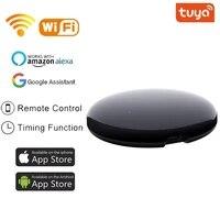 Telecommande universelle IR WiFi pour maison connectee  controle avec application Tuya pour Alexa et Google Assistant