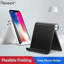 Rexxar Support pour téléphone Support Mobile Smartphone Support tablette Support pour iPhone bureau Support pour téléphone Portable Support de téléphone Portable