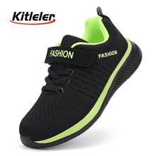 Fashion Kids Sneakers Summer Breathable Running Shoes Boy Outdoor Non-slip Casual Sport Tennis Shoes