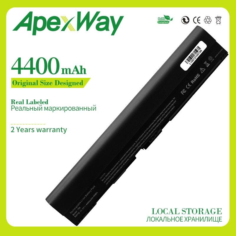 Apexway 6 celdas batería para Acer Aspire 756 V5-171 725 AL12X32 AL12A31 AL12B31 AL12B32 TravelMate B113 B113M C710 Chromebook