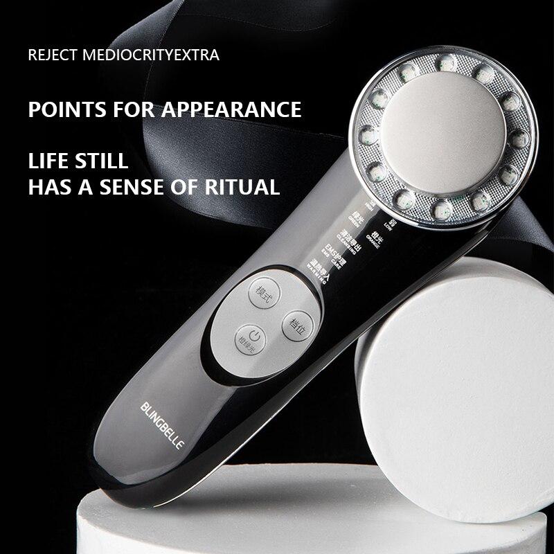 Portable Mini Home Ultrasonic Slimming Device Ems Orange Green Led Skin Rejuvenation Beauty Devices