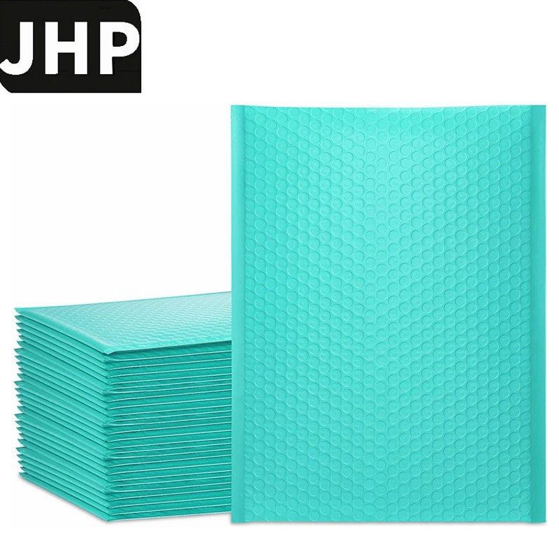 25PCS Blue Color 9.5x13.5inch 10.5x15inch BIG Size Bubble Mailer Envelopes,Self Sealing Packing Bags With Bubble Lining