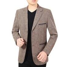 New Brand Spring Autumn thin Casual Men Blazer Slim England Suit Blaser Masculino Male Jacket Blazer Men Size M-3XL