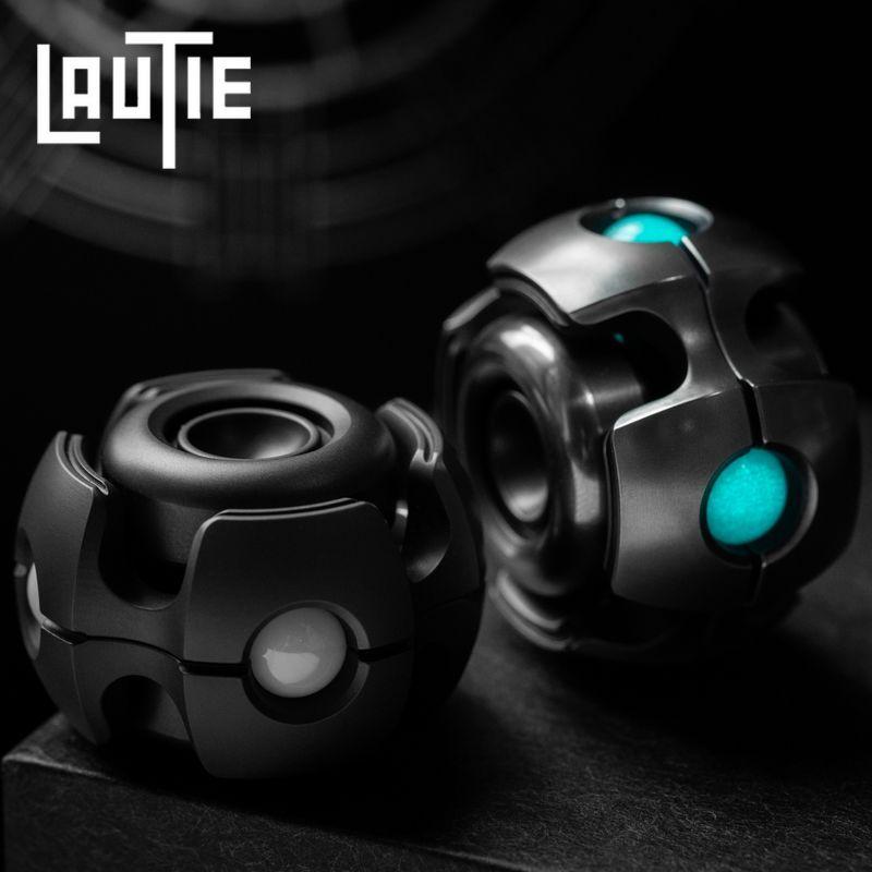 LAUTIE Noise E-NANO Fingertip Gyro Zirconium Alloy Portable Creative Bearing High Speed Rotary Decompression Ceremony EDC