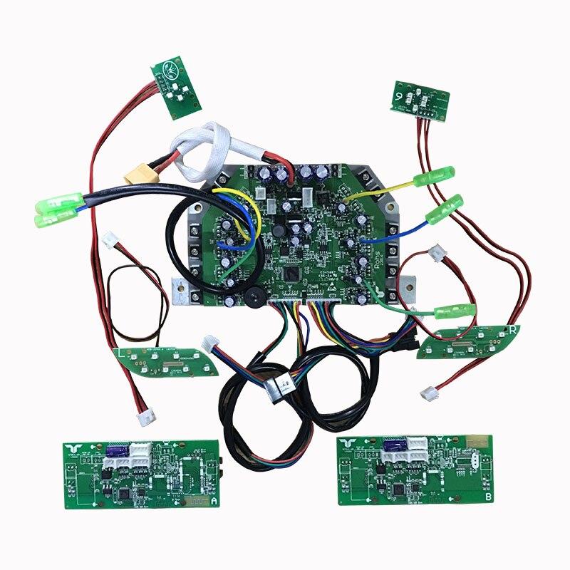 الكهربائية سيارة توازن اللوحة الرئيسية لوحة دوائر كهربائية لوحة تحكم صيانة تحكم اثنين عجلة مجموعة كاملة من التواء سيارة عالمية