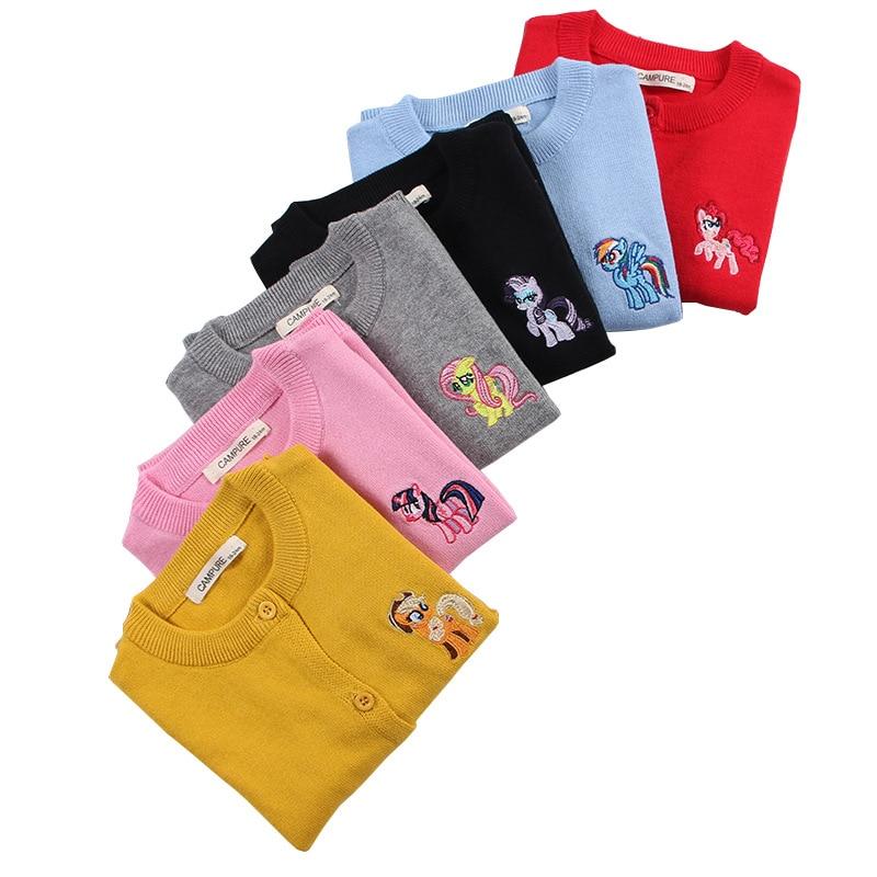 Nuevo otoño bebé niña suéter niños niñas dibujos animados puente punto niños algodón Cardigans niño niña suéter bebé niño ropa Tops