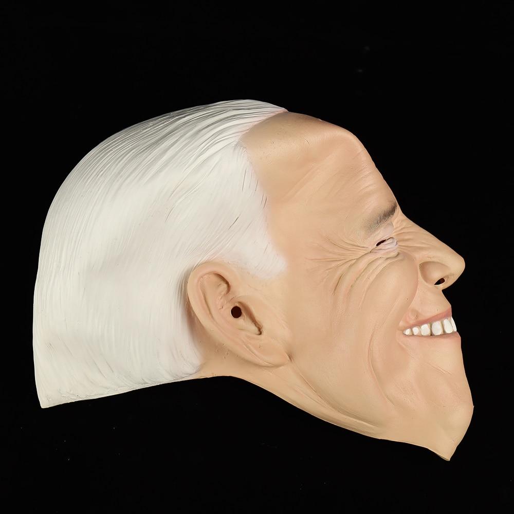 Купить с кэшбэком Joe Biden Mask 2020 President Election Campaign Vote For Joe Biden Masks Helmets Halloween Party Masque Costume Props