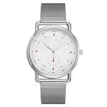 2020 ساعة عصرية بسيطة الرجال بقعة الجملة حزام شبكي رقيقة جدا كبيرة مخطط الطلب مقياس ساعة رجالي عادية على مدار الساعة الأكثر مبيعا