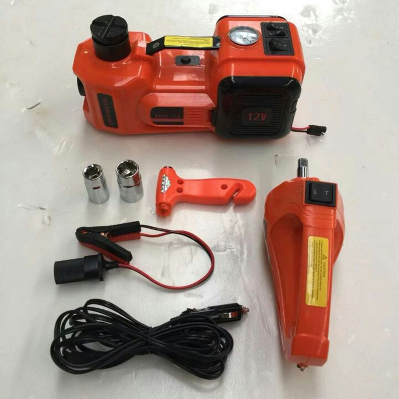 Electrical Jack Car Electric Jack Electrical Jack with Air Pump 5T Jack Electric Wrench Set недорого