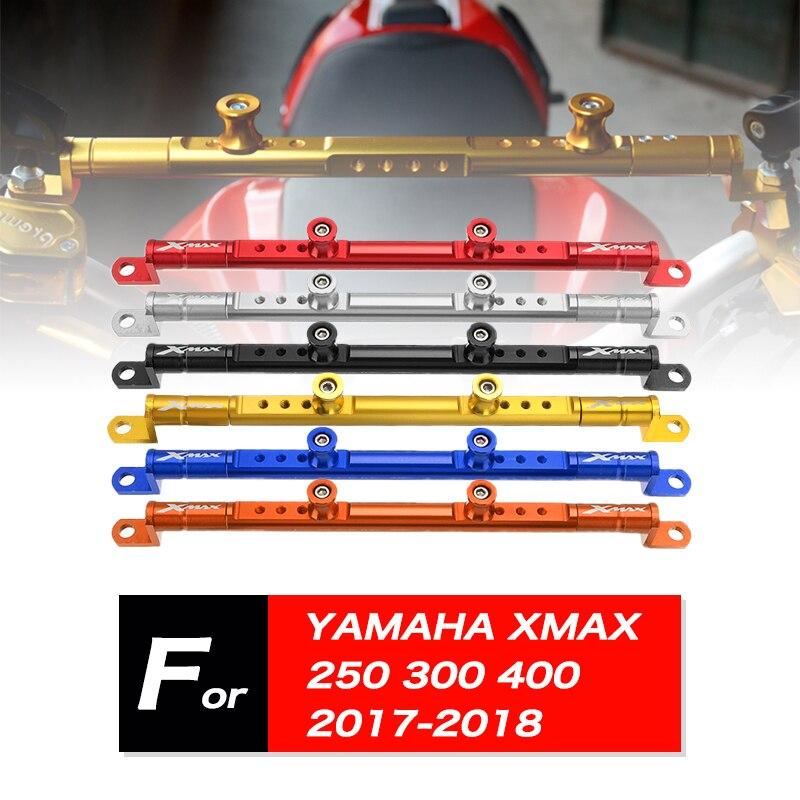 Manillar de motocicleta CNC, barra cruzada de equilibrio, soporte de expansión para Yamaha XMAX X-MAX 300 250 400, Scooter multifunción