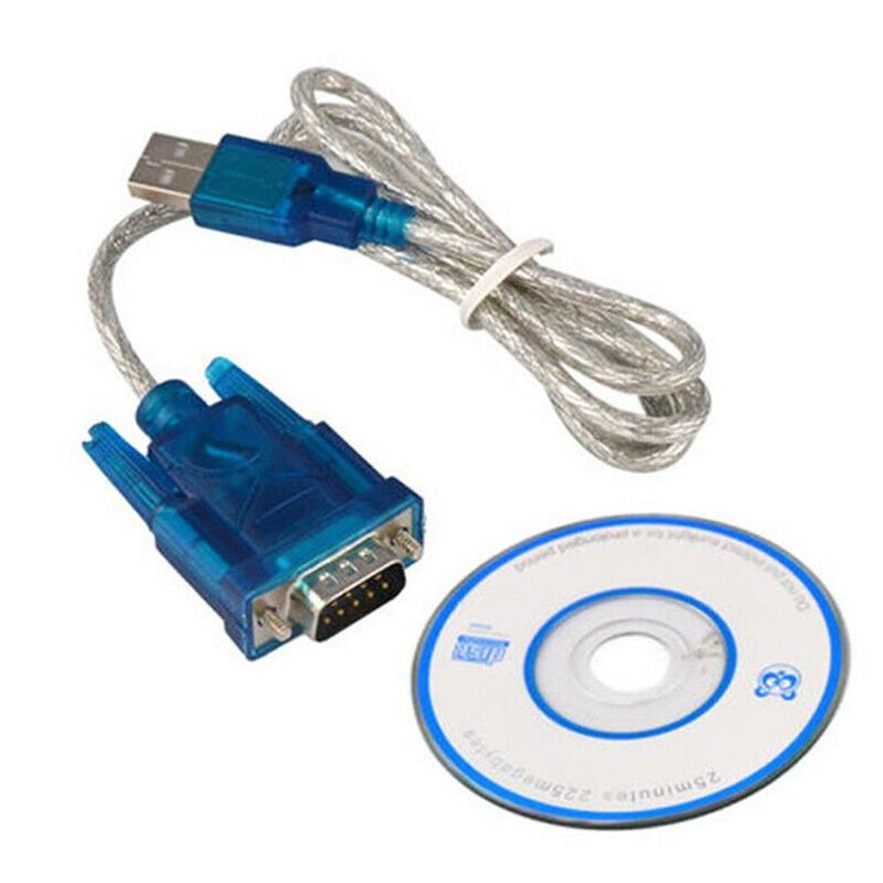 Cable Adaptador Convertidor Usb 100 una serie Rs-232 2 Cm 9 pinos...