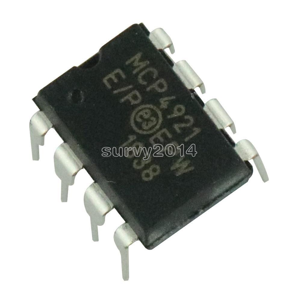 Digital Analog Converter IC DIP-8 MCP4921-E/P MCP4921 MICRO CHIP 8P 8DIP