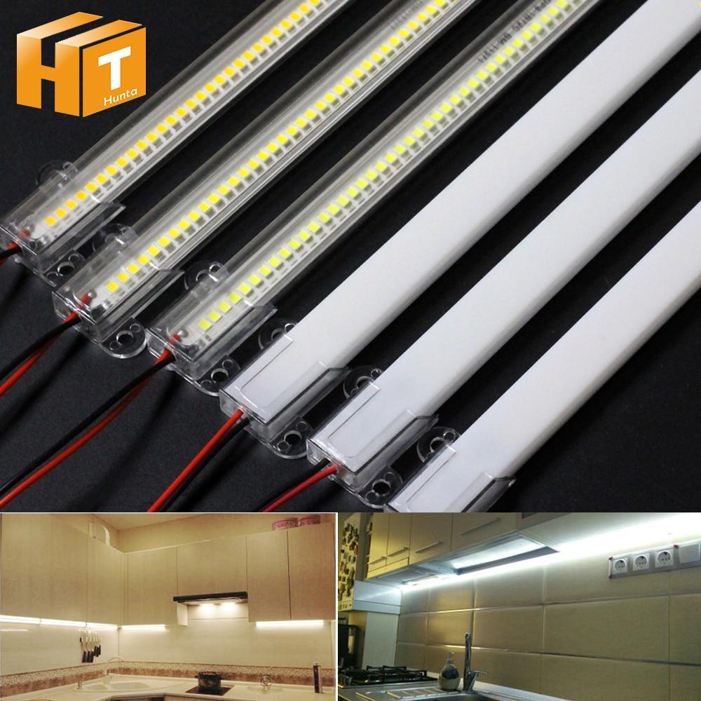 5pcs 10pcs LED Bar Light AC220V High Brightness 8W 50cm 30cm 72LEDs 2835 LED Rigid Strip Energy Savi
