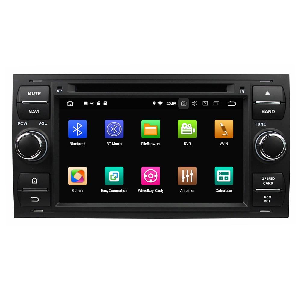 "KLYDE 7 ""PX6 Android 9,0 reproductor de DVD para Ford FOCUS Mondeo S-MAX C-MAX Galaxy Fiesta forma coche Radio 6 Core reproductor Multimedia"