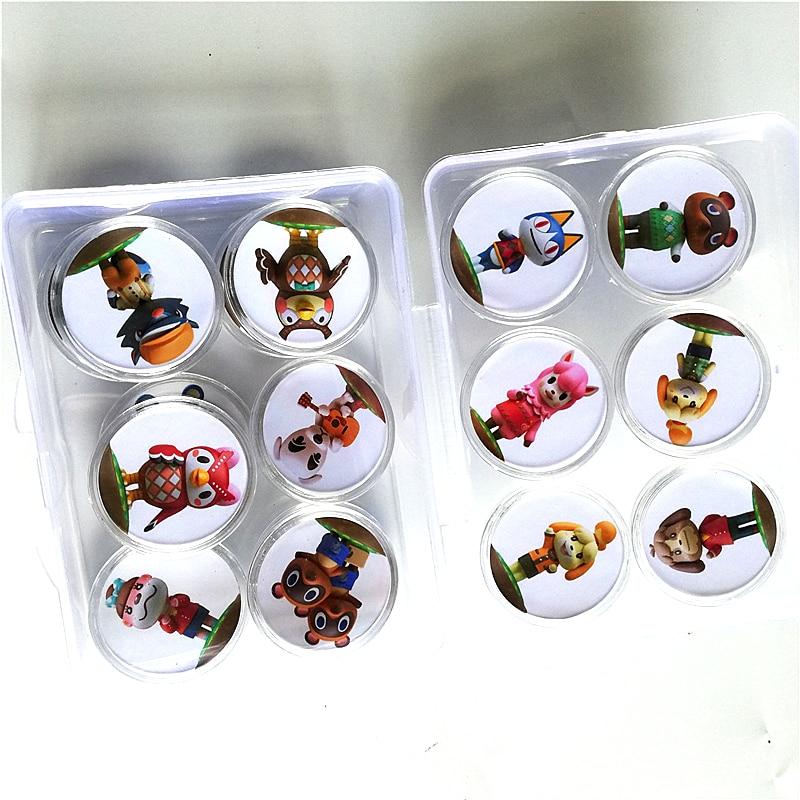 Transporte rápido 16 pçs/lote Animal Crossing De amiibo Coleção Festival Jogo Da Moeda do Cartão NFC Tag