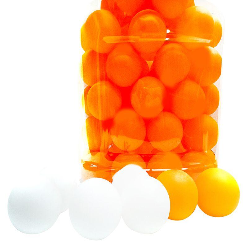 60pcs/set Professional Table Tennis Balls Player Training Ping Pong Balls 40mm PVC Seamless Durable Sports Accessories