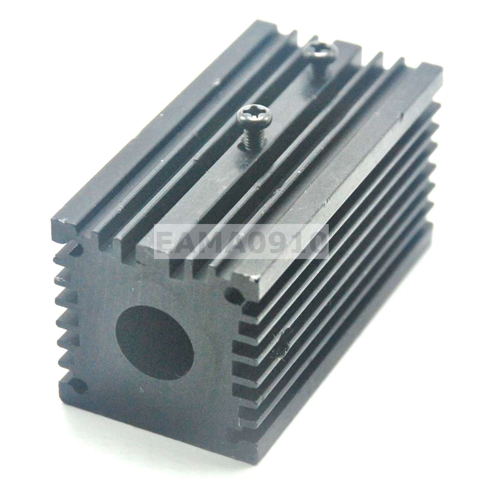 Алюминий охлаждение корпус тепло раковина держатель% 2FMount для 12мм лазера модулей 32x62мм