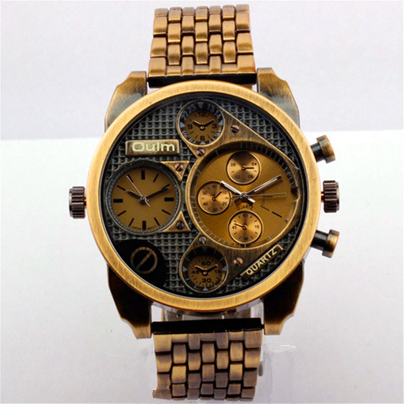Militar do Exército Relógios dos Homens Relógio Esportivo Luxo Personalizado Marinha Dominador Retro Design Masculino Presentes Originais