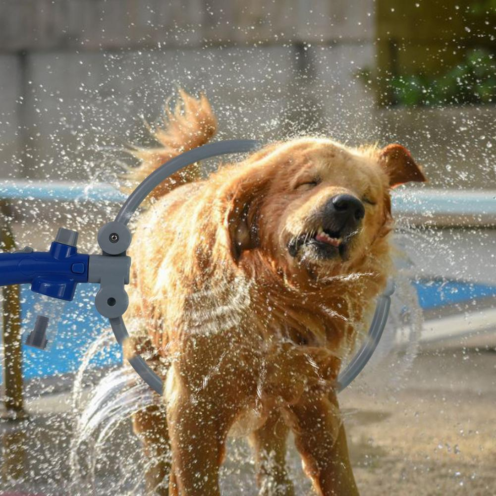 2021 New Pet Bath Artifact Dog Cleaning Beauty Tools Pet Bath Spray Shower Dog Washing Summer Foldab