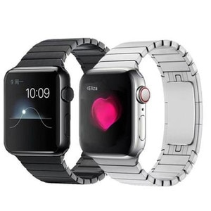 Metal Band Compatible with Apple Watch Band 42mm or 44mm 38mm or 40mm Series 1 2 3 SE 4 5 6 Solid Stainless Steel Link Band