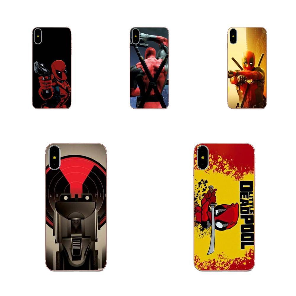 Deadpool Hero dla Huawei Honor Mate Nova uwaga 20 20s 30 5 5I 5T 6 7I 7C 8A 8X 9X 10 Pro Lite zagraj w miękki TPU Slim