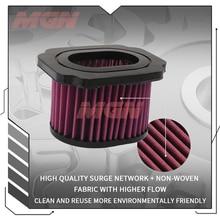 Motorcycle Air Filter Motor Bike Intake Cleaner For  MT 07 MT07 MT-07 FZ 07 FZ07 FZ-07 XSR700 XSR 700 2014-2018 2019