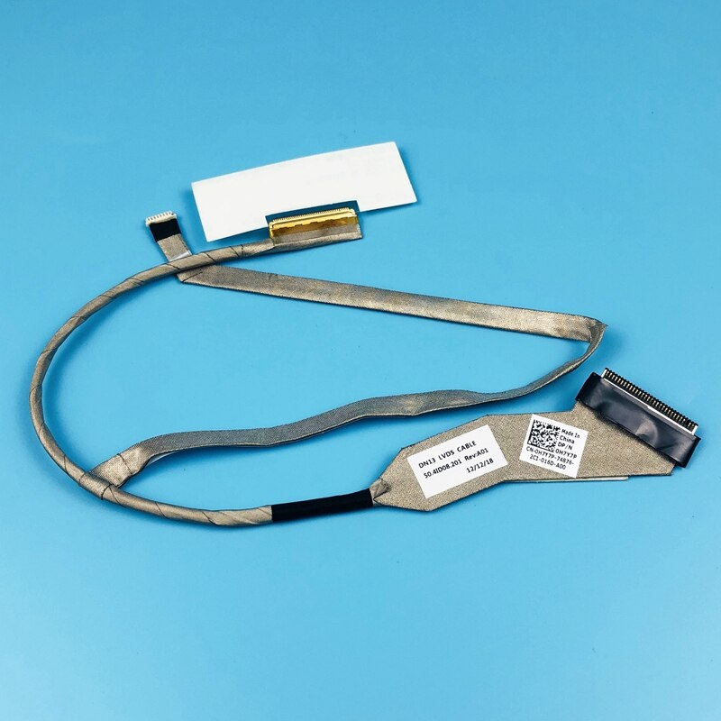 New Original LCD Screen Flex Cable for Dell Vostro 3350 V3350 DN13 LVDS CABLE 50.4ID08.201 DP/N 0H7Y
