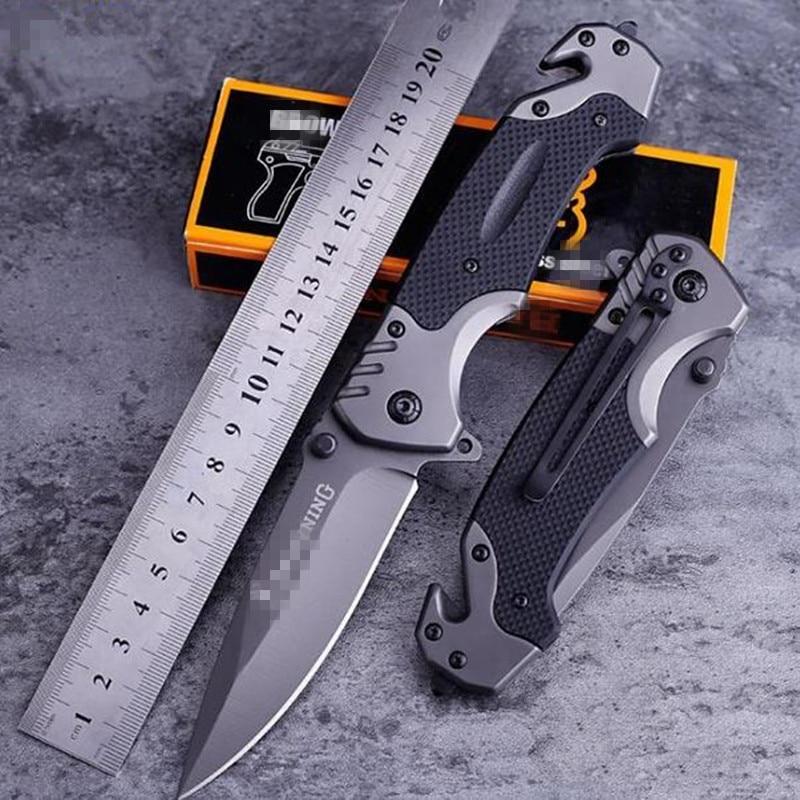 2 шт./пакет кемпинг охотничьи ножи выживания складной Ножи открытый Ножи выживания высокой твердостью Швейцарский Многофункциональный арм...