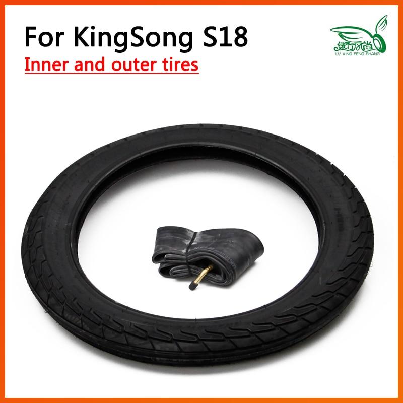 الملحقات الأصلية ل Kingsong S18 الأنبوب الداخلي للإطار كيك سكوتر الذكية الدراجة الهوائية الأحادية العجلة سكيت Hoverboard مونوويل الملك أغنية KS أجزاء