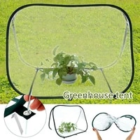 foldable heat preservation mini greenhouse transparent plant protection greenhouse flower shed outdoor greenhouse tent