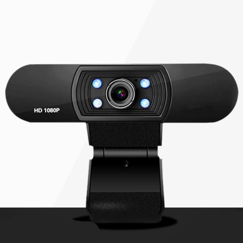 كاميرا HD كاميرا الفيديو كونفرنس 1080P الكمبيوتر كاميرا البث الشبكي كاميرا رؤية الليلية محرك تخفيض الضوضاء
