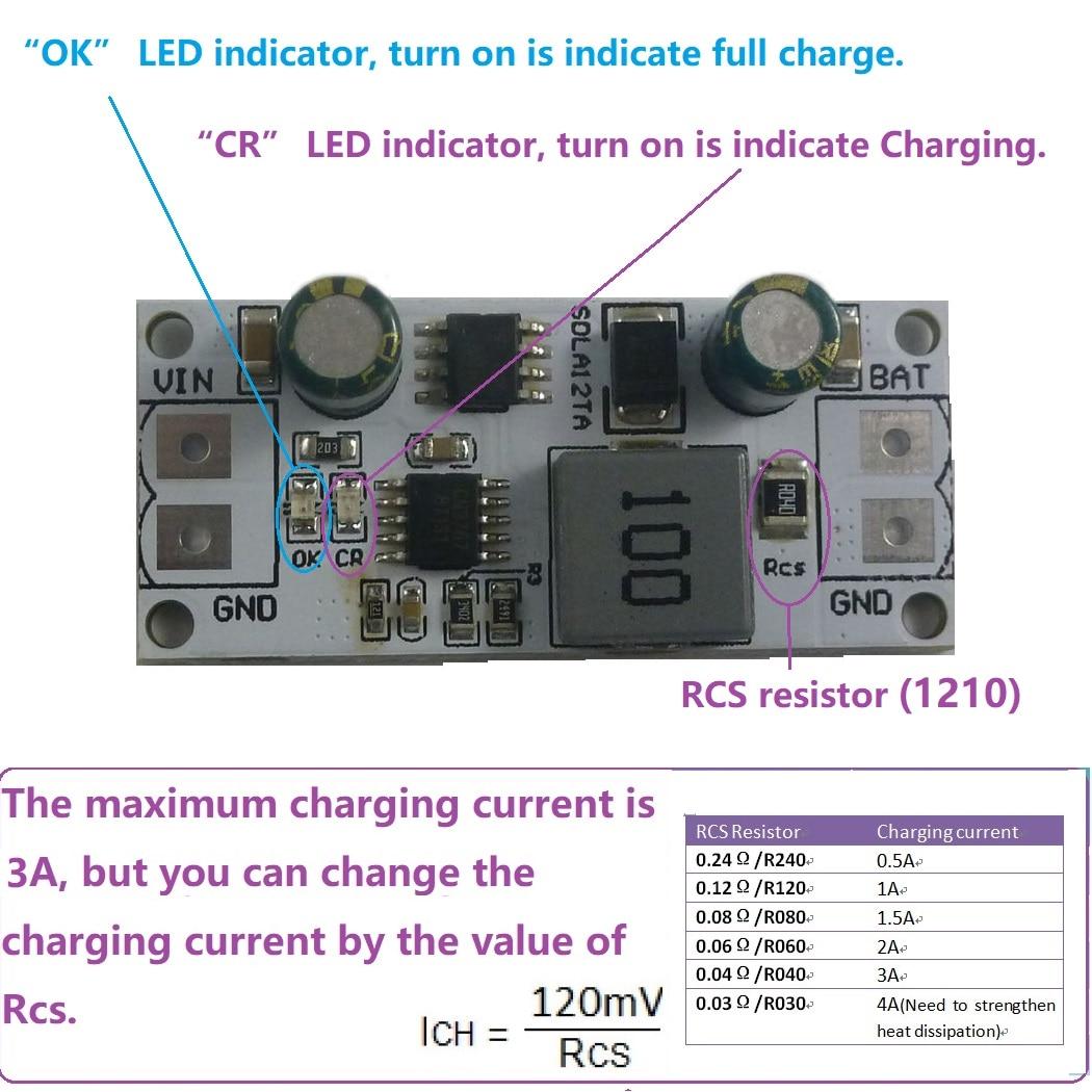MPPT Solar Panel Controller Lade Modul für 12V 1-1000AH Blei Säure Batterie UPS Lagerung batterie auto