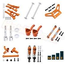Aluminum Alloy Upgrade Parts For HPI 1/10 RC Car WR8 Flux Rally Bullet MT ST 3.0 Ken Block Spare Part Orange Anodized