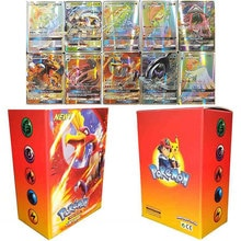 100PCS/Box Pokemon TRAINER GX Shining Cards TOMY Playing Game Trading Battle Collection Card Booster
