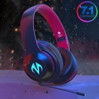 music modes 7 1 surround bluetooth headphone wireless wired stereo pubg pc games headphones with rgb light mic