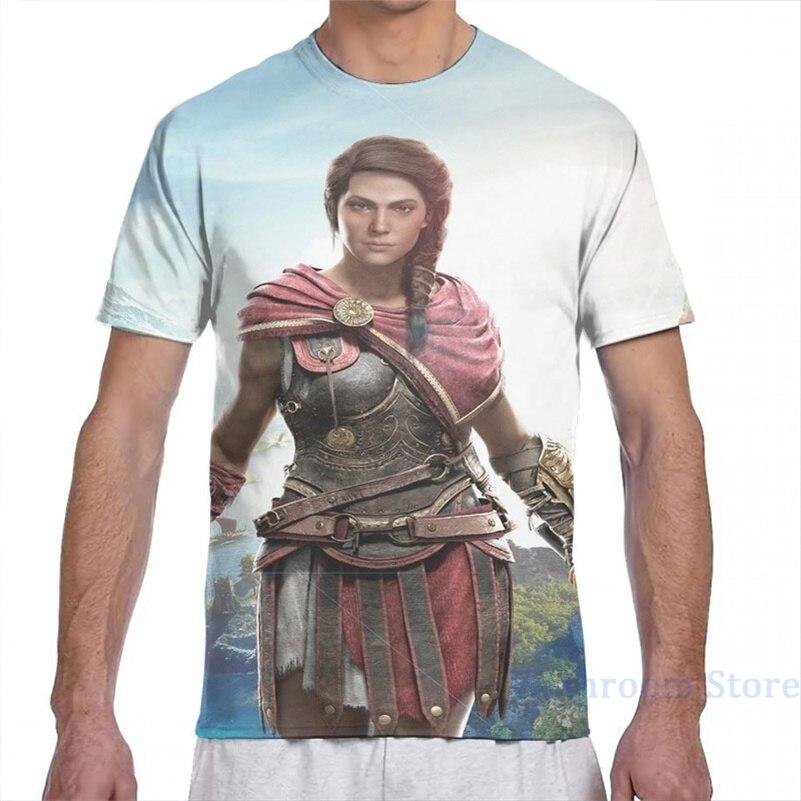 Cassandra, the Assassin men T-Shirt women all over print fashion girl t shirt boy tops tees Short Sleeve tshirts