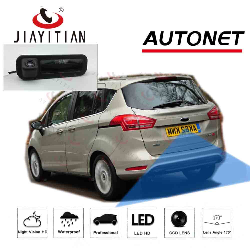 for for toyota prius 2012 2013 2014 smart tracks chip camera hd ccd intelligent dynamic parking car rear view camera JIAYITIAN Car Trunk Handle Camera For Ford B-Max Bmax 2012 2013 2014 2015 2016 2017 CCD backup camera rear view Parking Camera
