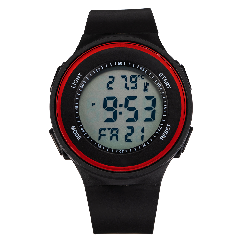Reloj deportivo Senors de moda para exteriores, relojes multifunción para hombre, reloj despertador 3Bar Chrono, reloj Digital resistente al agua para hombre