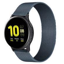 Ремешок магнитный для Samsung Active 2, браслет для Huawei GT/GT2/2e Galaxy watch 3/4 Classic 45/42 мм, 20 мм 22 мм 40/44 мм