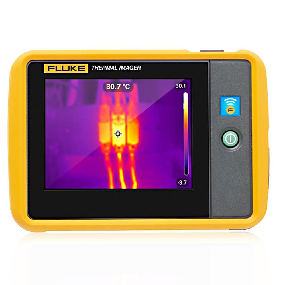 FLUKE PTi120, sensor de imagen infrarroja térmica de bolsillo, sensor de imagen IR, cámara de imagen térmica de 10800 píxeles de mano, resolución de 120x90